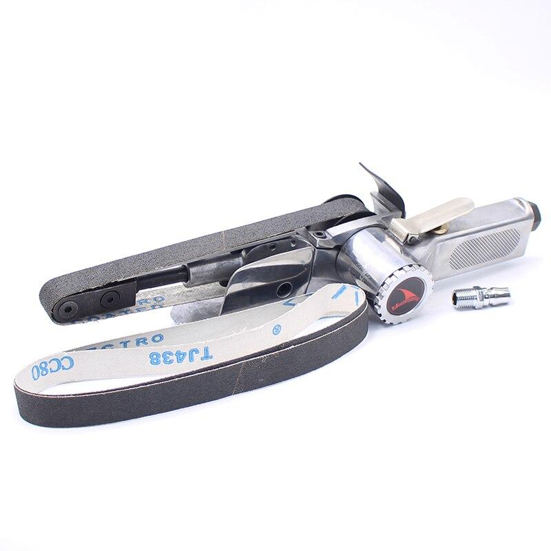 YOUSAILING Quality 20MM*520MM Pneumatic Belt Sander Air Sanding Machine Polisher Tool Abrasive Belt Machines