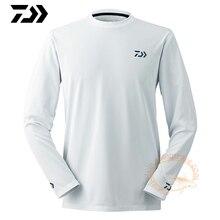 Дайв Рыбалка одежда длинный рукав XS-5XL рыболовные рубашки летние быстросохнущие дышащие анти-УФ Защита от солнца футболка