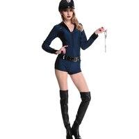 Sexy Polizei Jumpspuit Frauen Polizei Frau Sexy Cop Kostüm Hot Sexy Ladies Polizei Kostüme Mit Hut Handschellen Gürtel W530359