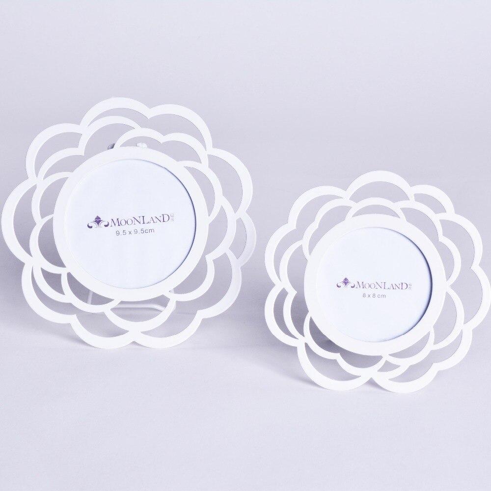 2016 pequeño y fresco blanco moderno flor forma redonda foto Marcos ...