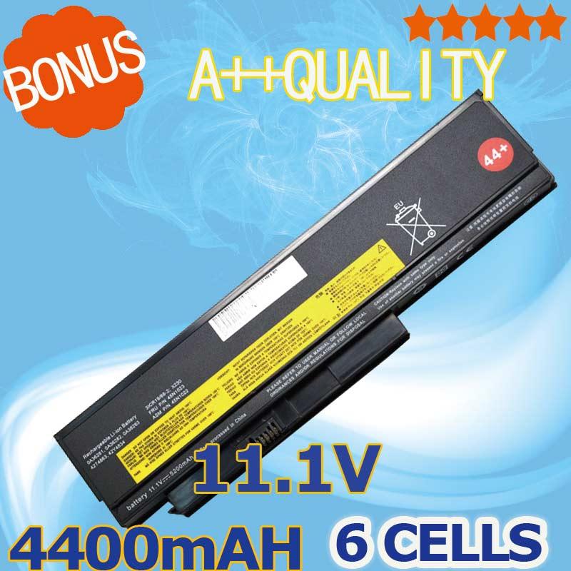4400 mAh Batterie d'ordinateur portable Pour Lenovo ThinkPad X230 x230i pour Tablet 0A36285 0A36286 42T4877 42T4878 42T4901