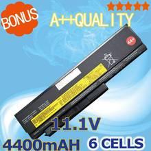 4400mAh laptop font b Battery b font For Lenovo ThinkPad X230 x230i for Tablet 0A36285 0A36286