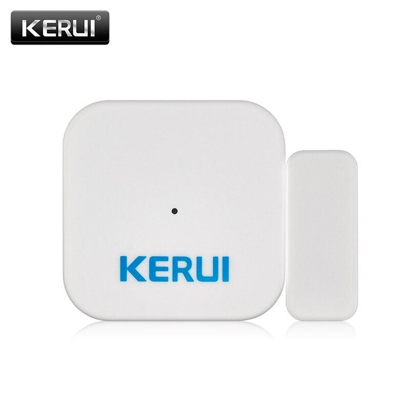 KERUI D028 Wireless Window Door Magnet Sensor Detector Door Sensor Portable Anti-Tamper Burglar Alarm For KERUI Alarm System 1