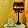 Europäische Kristall Schreibtisch Luxus Schlafzimmer Studie Tisch Lampe Nacht Licht Nacht Modell Haus Für Wohnzimmer Lamparas Lampe-in Schreibtischlampen aus Licht & Beleuchtung bei