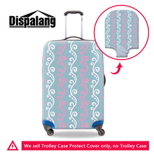 Dispalang 3d blume trolley koffer gepäck abdeckung für 18 20 22 24 26 28 30 zoll gepäckschutzhüllen reise accessorries