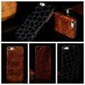 Cubierta de cuero genuino, 5s caso Real de cuero de vaca para el Iphone 5 5S 5 g de lujo importados de cuero protectora de la piel de nuevo caso