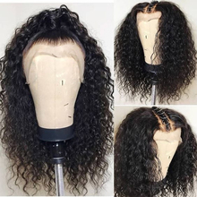 Transparent Lace Wigs 360 Lace Frontal Wig Pre Plucked With Baby Hair 13×6 Lace Front Curly Human Hair Wigs Ever Beauty Remy