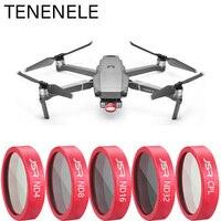 Tenelele etui dron z kamerą filtr neutralny filtry o gęstości dla DJI Mavic 2 Zoom ND 4 8 16 32 Drone akcesoria do filtrów mavic2 Zoom w Filtry do dronów od Elektronika użytkowa na