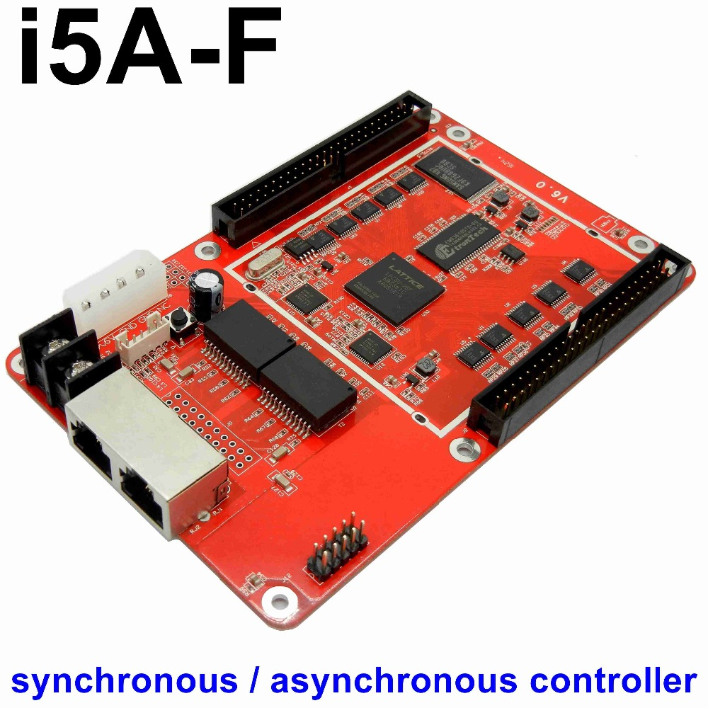 Free shipping i5A-F full color LED cotrol card RGB synchronous asynchronous Dual mode led screen display video controllerFree shipping i5A-F full color LED cotrol card RGB synchronous asynchronous Dual mode led screen display video controller