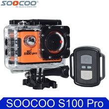 100% D'origine SOOCOO S100 Pro 4 K Wifi Action Camera 2.0 «Écran tactile Contrôle Vocal À Distance Gyro Étanche 30 m Sport DV Voiture DVR