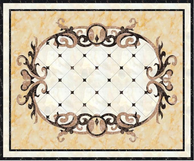 ФОТО 3d wallpaper custom 3d flooring painting wallpaper living room 3 d material marble parquet floor tile paintings photo wallpaer
