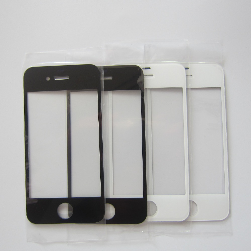 Front Outer Glass Lens Replacement Parts For IPhone 4 4s 5 5S LCD Touchscreen Repair