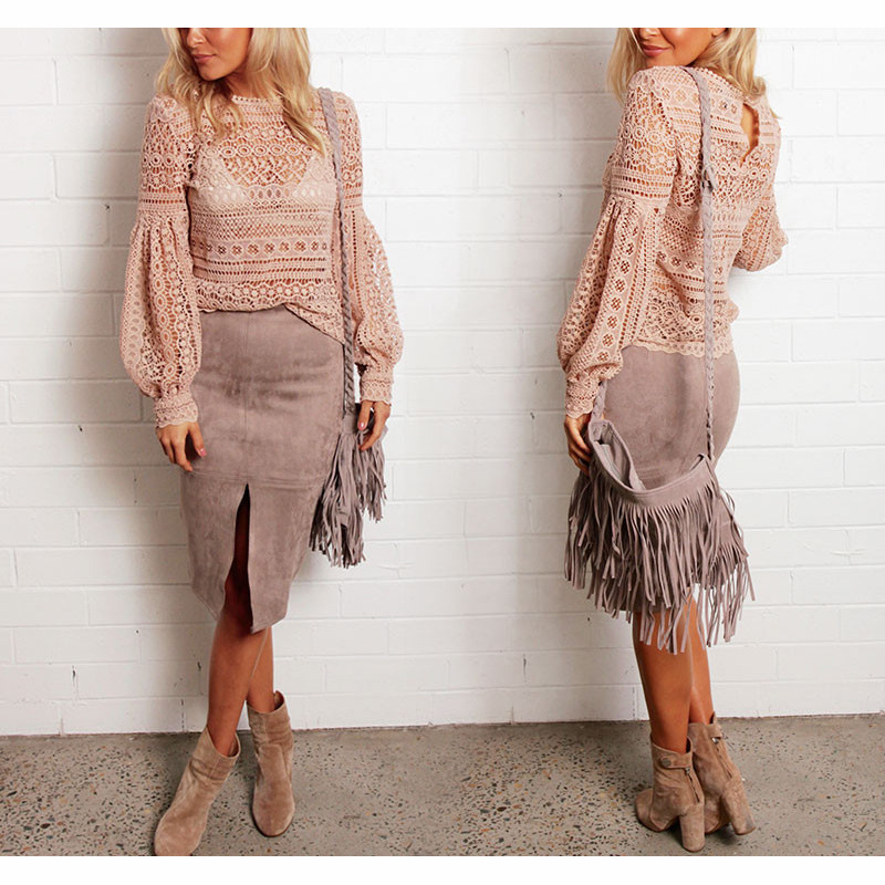 Pink sexy lace t shirt women rihanna camisetas mujer hipster haut femme fashion kpop tops - Haut sexy femme ...