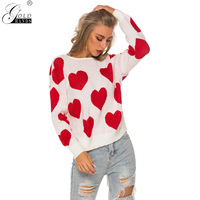 Gold Hands Jumpers Knitted Fashion Women Open Back Sexy Love Sweater Women Winter Sweaters Pullovers 2019 Pullover Sweater Women