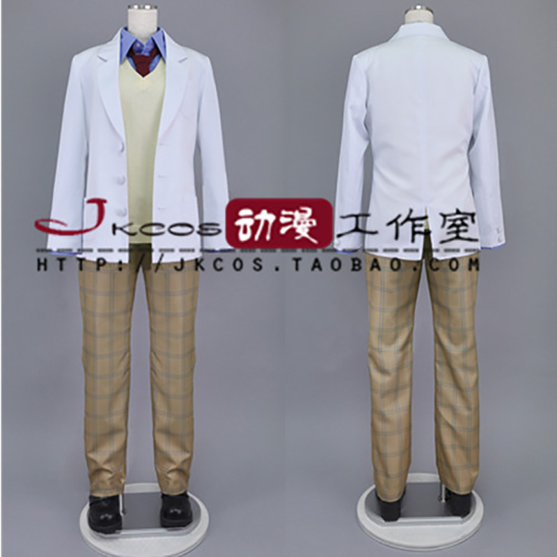 Anime Haikyuu Cosplay Costume High School Volleyball Club Winter School Uniform Unisex Suit Coat+Waistcoat+Pants+Shirt+Tie 2016 ouran high school host club mitsukuni haninoduka s rabbit anime cosplay plush toy 38cm
