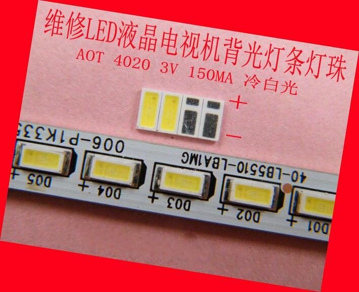 Repair Haier TCL Hisense LED LCD TV TV backlight strip lights with AOT SMD 3V lamp