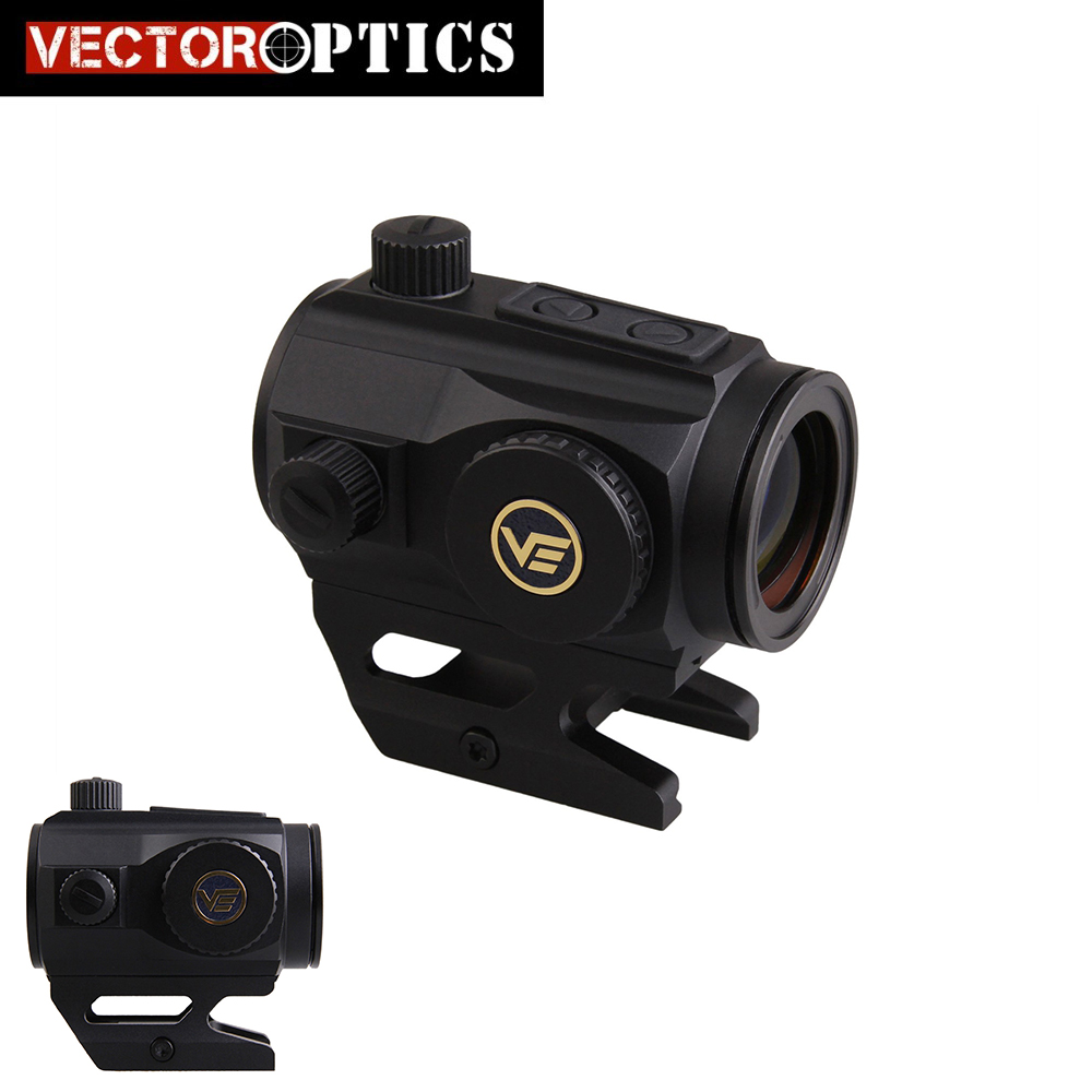 Vector Optics Scrapper Red Dot Scope IPX6 Water Proof 2MOA Dot Size Red Dot Sight with Picatinny Mount AR15 M4 AK47