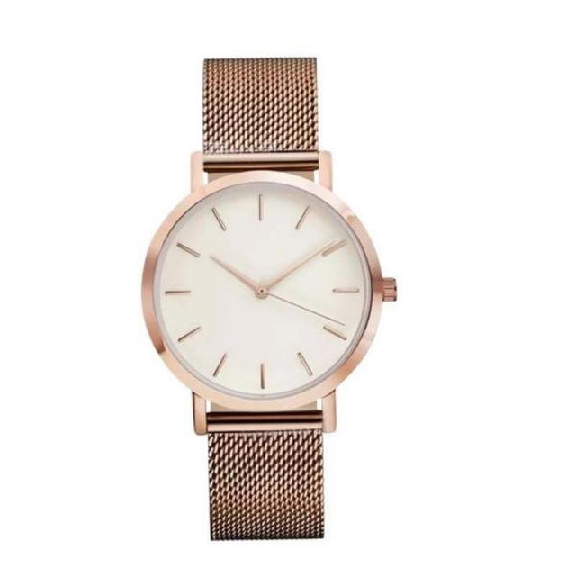 Women Watches Reloj Rose Gold Luxury Top Brand Mujer Silver Fashion Sport Watch