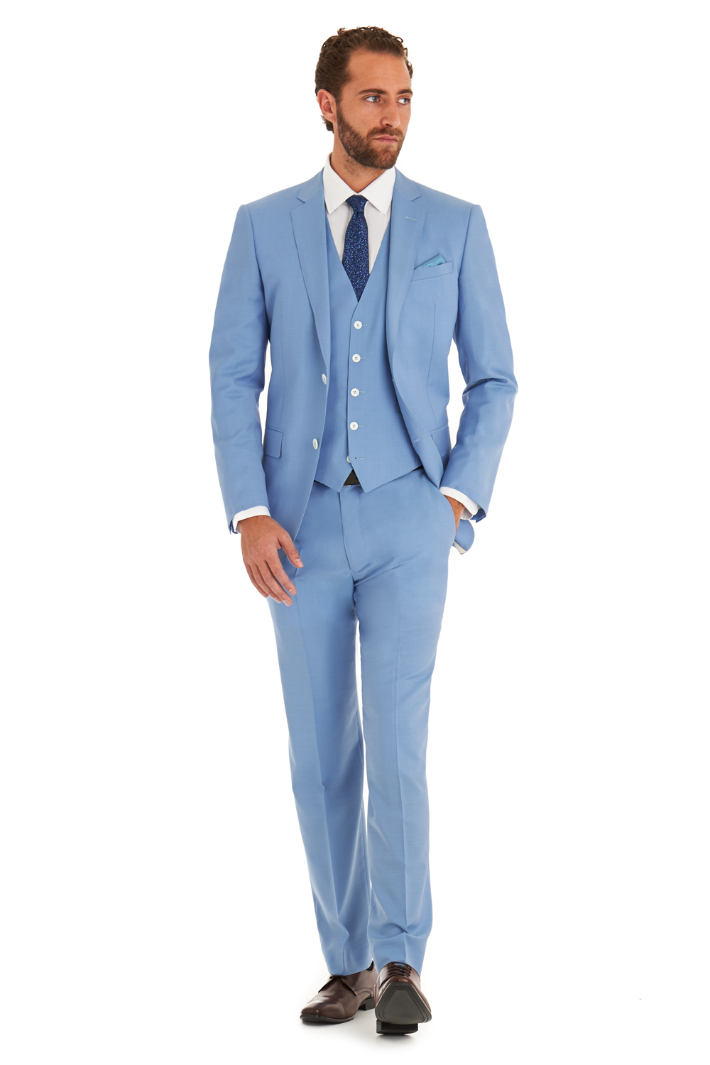 Arrivel Romantic Light blue wedding man\'s Suit party dress Lounge ...
