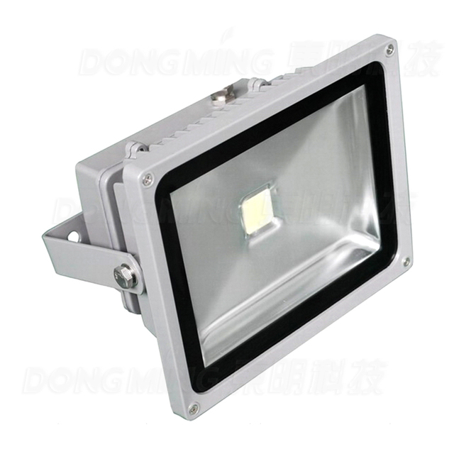 100pcs Led Outdoor Flood Light White Waterproof Ip65 Spotlight Ac85 265v 5000lm High Lumen 50w Bulbs Rgb