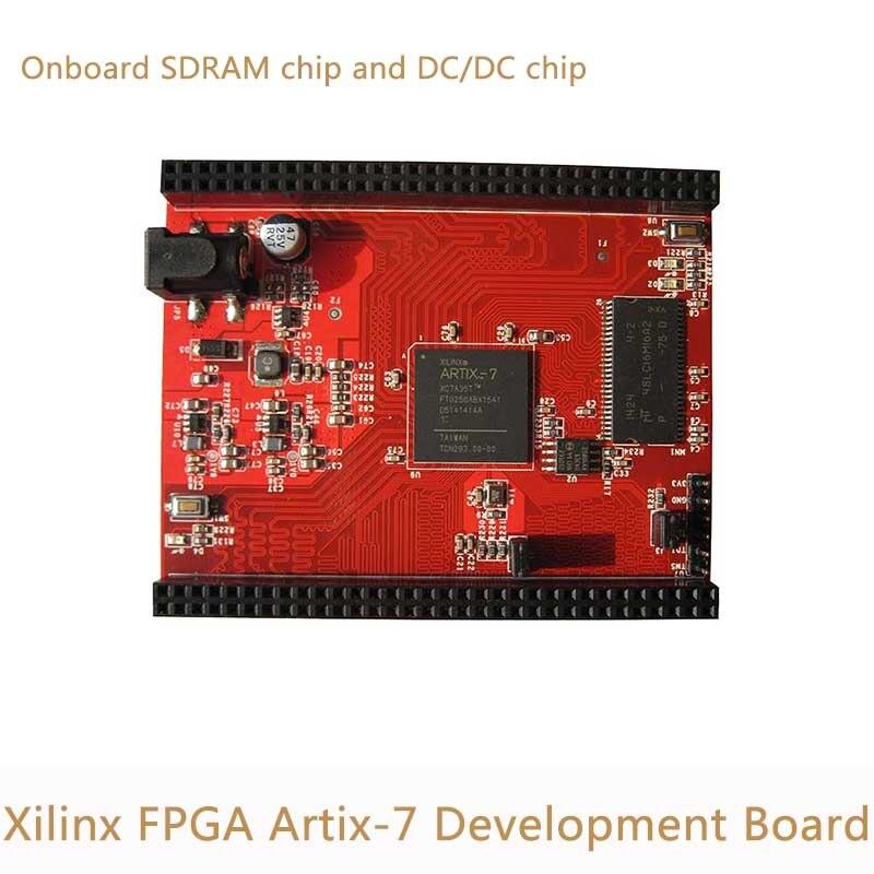 Xilinx FPGA Artix7 Artix-7 carte de développement bricolage XC7A35T carte de base avec 64 Mbit SPI Flash 456 mo SDRAM MT48LC16M16