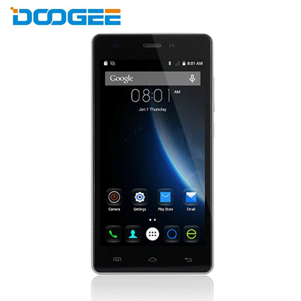 Цена за Original DOOGEE X5 Pro Android 5.1 4 Г Смартфон 5.0 дюймов IPS Экран MTK6735 64bit Quad Core 2 ГБ RAM 16 ГБ ROM