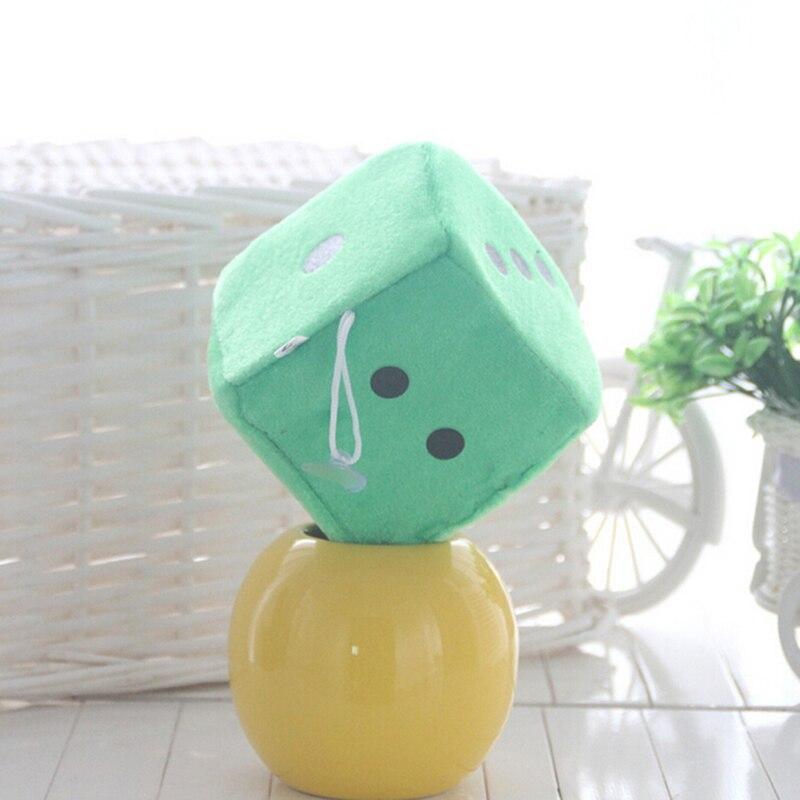 TOYZHIJIA креативные игральные кости тканевая кукла подушка плюшевые игрушки для детей подарок на день рождения детские игровые реквизиты 10 см