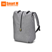 Xiaomi 90FUN Leisure Daypack Business Waterproof Backpack 14 Laptop Bag College School Travel Trip for Man & Woman, Grey