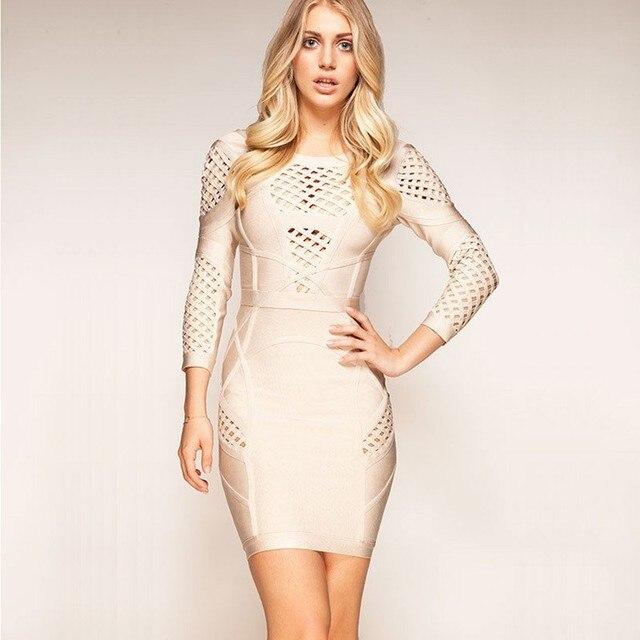cc1c8c087f3e6 2015 New Fashion Women Party Trend Night Bandage Prom Dress - Yeni Moda  Kadin Giyim Abiye
