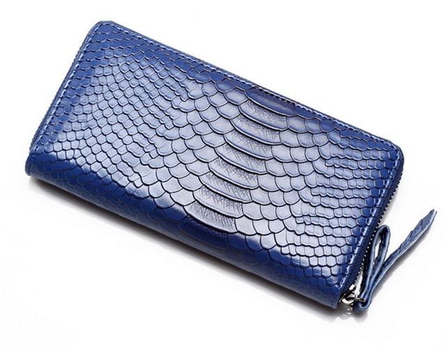 2016 New Fashion Leather Bag Coin Purse Zipper Pockets Women Clutch Bag Wallet Purse Female Handbag Coin Purses Free Shipping