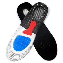 Professional Ergonomic Shock-Absorbing Silicone Sports Insoles