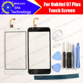 Oukitel U7 Plus Digitizer Touch Screen 100% Guarantee Original Glass Panel Touch Screen Digitizer For U7 Plus Free Shipping