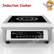 Высокомощная индукционная плита Коммерческая индукционная плита 6 кВт электромагнитная печь ресторанная суповая плита