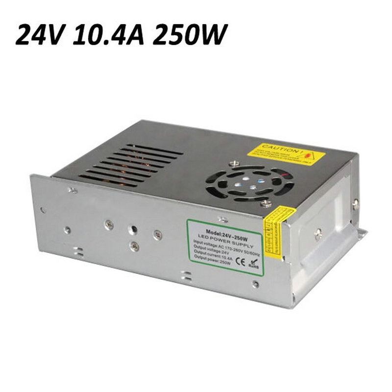 ФОТО Power Supply 250W Switching Power Supply 170-260V To 24V 10.4A For LED Strip Light