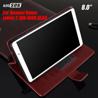 For Huawei Mediapad T2 8 0 Wallet PU Leather Case Cover For Huawei Honor Tablet 2