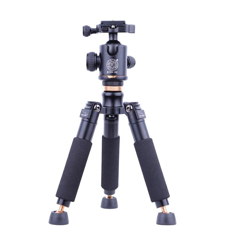 Q178 Un Léger Mini Caméra Trépied Pour Appareil Photo Numérique Mont Webcam Téléphone DV Trépied 250mm Hauteur Table Trépied 22mm Tube