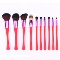 2017 10PCS 1Set Cosmetic Makeup Brush Brushes Set Foundation Powder Eyeshadow Women S Fashion Drop Shipping