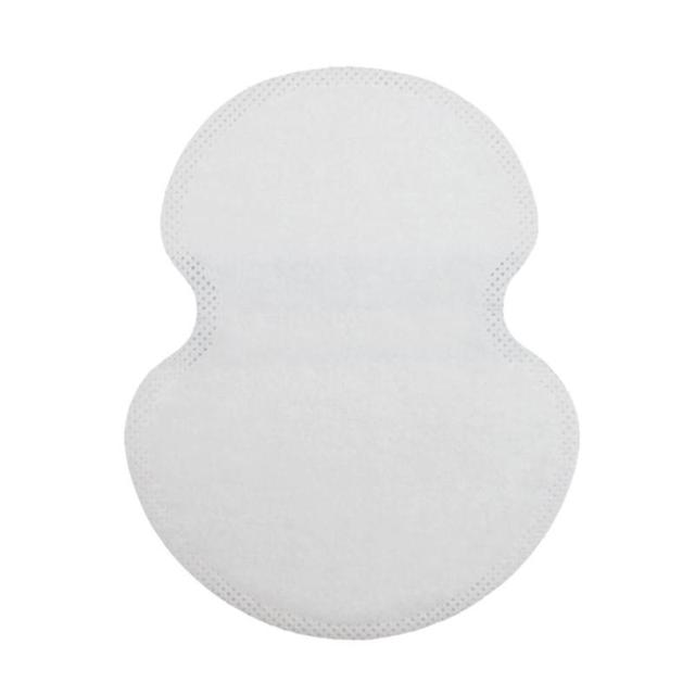 100pcs Underarm Ultrathin Absorbent Pads Summer Disposable Armpit Sweat Pad Anti Perspiration Body Cleaning Dry Pads Deodorant