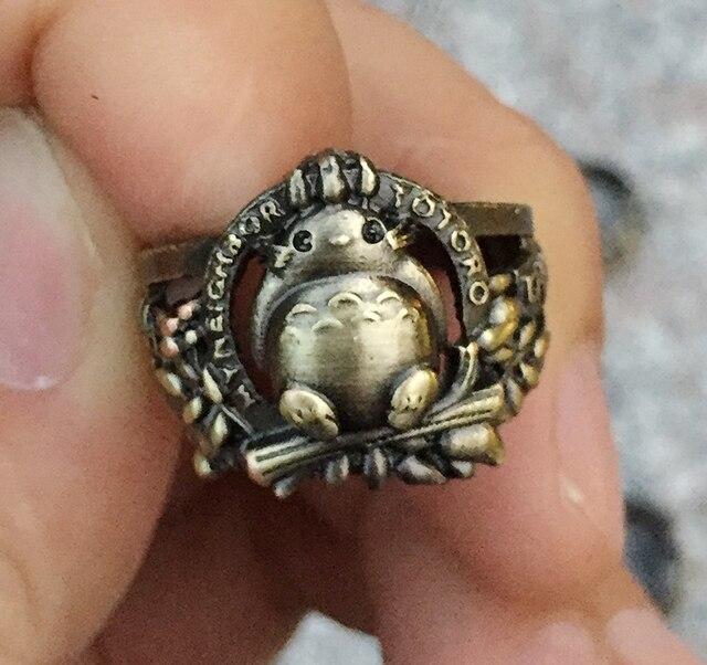 Аниме кольцо Мой сосед Тоторо 18 мм 1