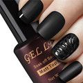 Gel Len Matt Matte Top Coat UV LED Clear Matte Top Gel Soak off Transparent Gel Lacquer