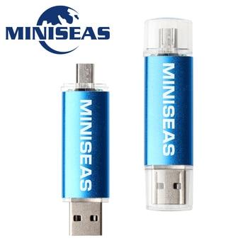 Miniseas Usb Flash Drive Fashion 9 Colors OTG Phone 4GB 8GB 16GB 32GB 64GB Pen Drive Memory Usb Stick Pendrive Flash Drive