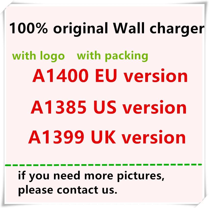50pcs lot 28g Original Quality 5V 1A A1400 A1385 EU US Plug USB Wall Charger AC