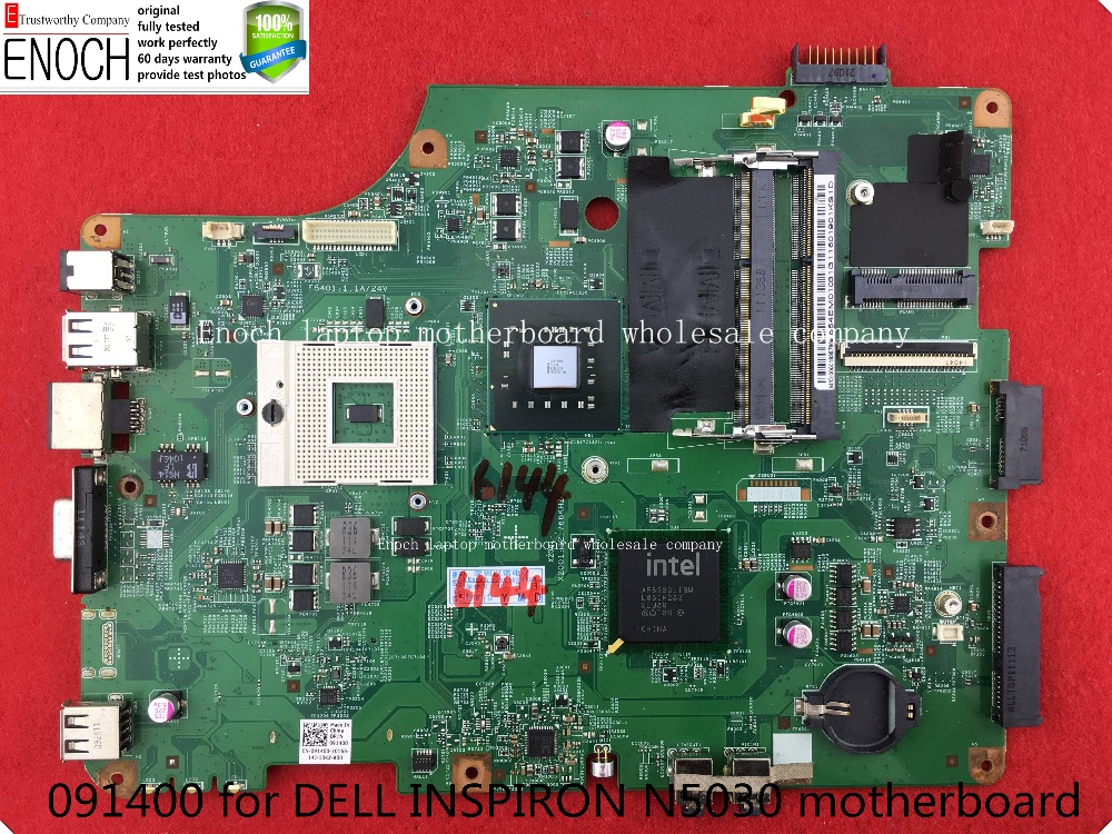 091400 for DELL INSPIRON N5030 motherboard for series INTEL GM45 INTEGRATED GMA 4500MHD DDR3 60 days warranty store No.099