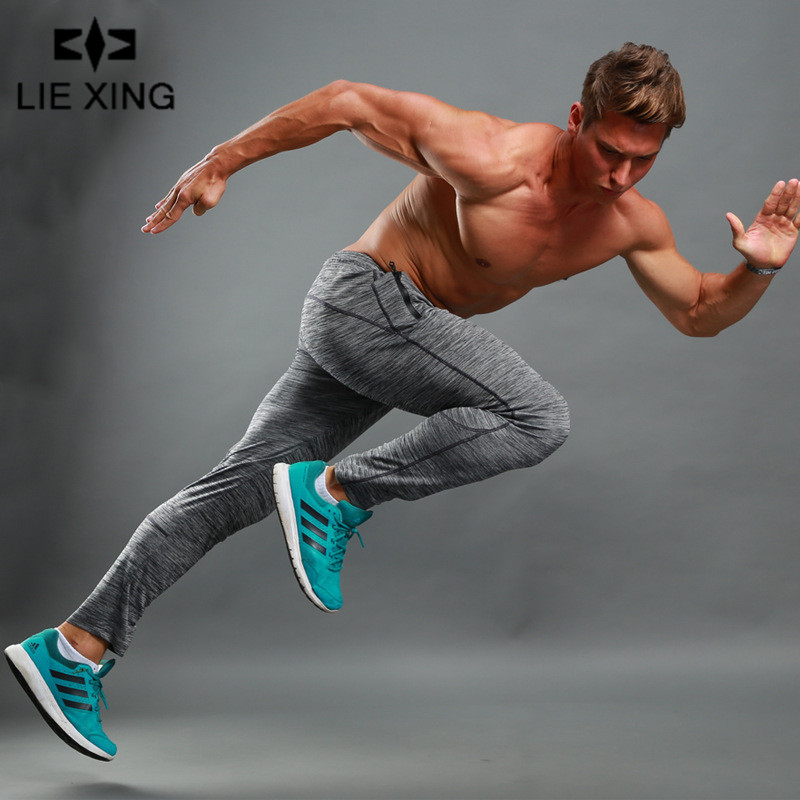Reasonable Lie Xing 2019 New Bodyboulding Mens Gyms Pants Brand Thin Clothing Trousers Professional Fitness Jogger Sweatpants Men Pants