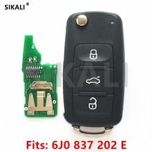 Chave remota para o Banco 6J0837202E/5FA010404 20 para Veículo Carro Alhambra/Altea/Ibiza/Leon/Mii/ controle de Toledo