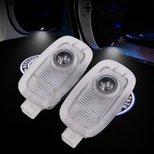 лучшая цена 2pcs LED Car door welcome logo Light Projector for Mercedes-Benz S serise S320 s500 3D projection ambient light
