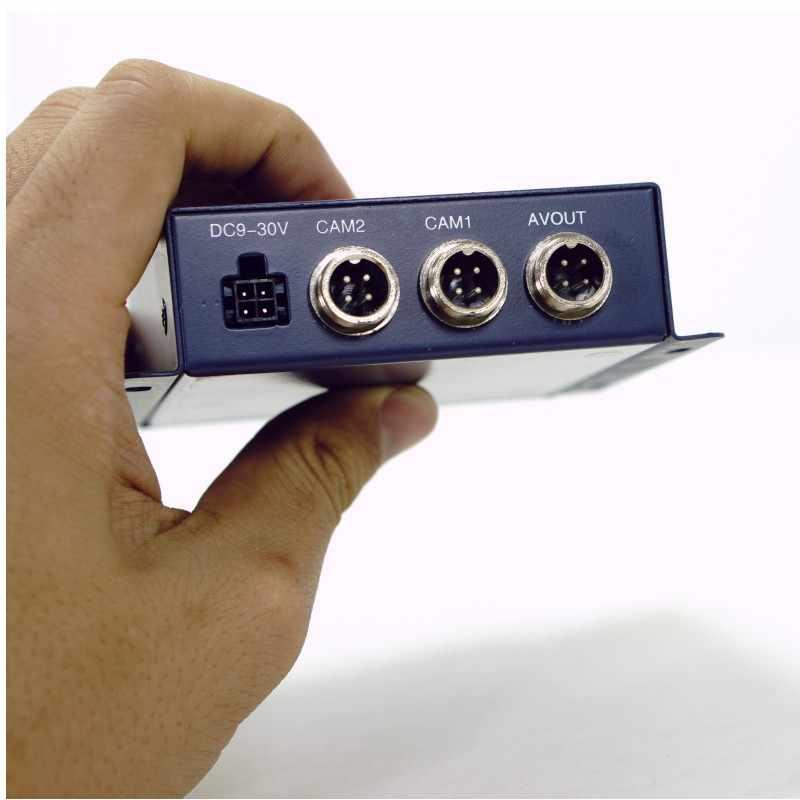 Оптовая продажа 2 канальный мини Автомобильный видеорегистратор для автомобиля/автобуса/дома 2CH Компактный переносной цифровой Поддержка CVBS/AHD 5.0MP в реальном времени sd-карта Мобильный DVR