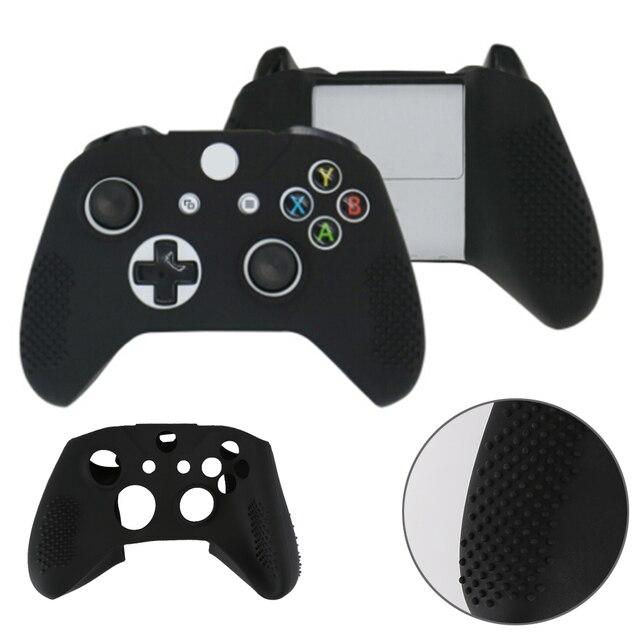 45130d5483c29 4 Cores suave Borracha de silicone Caso Capa Protetora Da Pele Dustproof  Caso para Microsoft Xbox