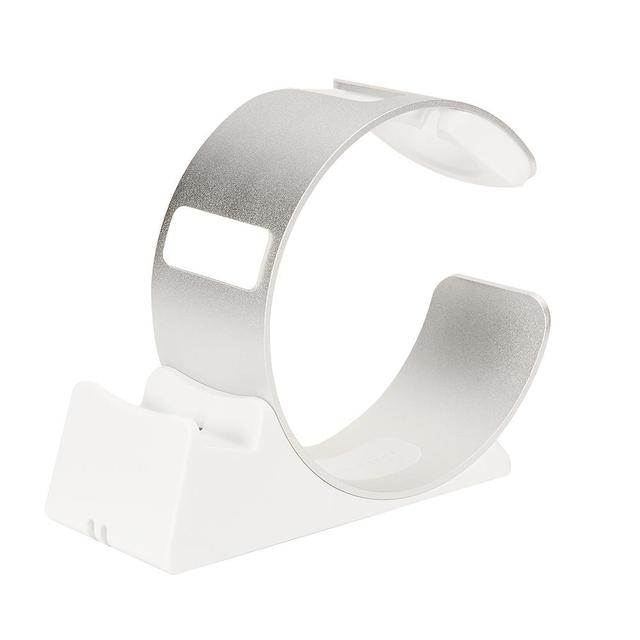 BIG EastVita Aluminum Alloy for Iphone for apple Watch Charging Bracket Silvery