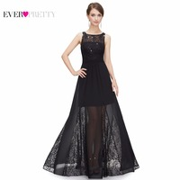 Prom Dress Sexy Elegant Sleeveless Long Black Evening Dresses Free Shipping 2015 New Arrival HE08347BK